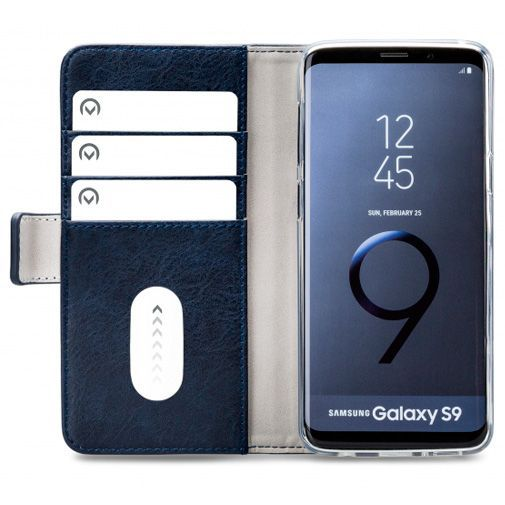 Productafbeelding van de Mobilize Elite Gelly Wallet Book Case Blue Samsung Galaxy S9