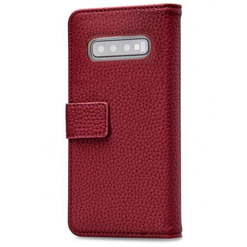 Productafbeelding van de Mobilize Elite Gelly Wallet Book Case Burgundy Samsung Galaxy S10+