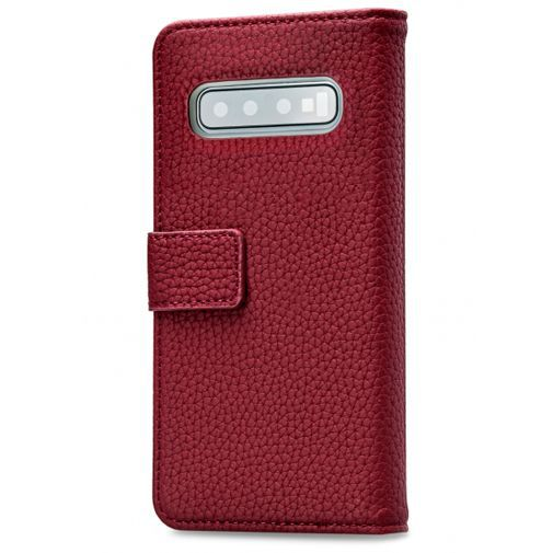 Productafbeelding van de Mobilize Elite Gelly Wallet Book Case Burgundy Samsung Galaxy S10