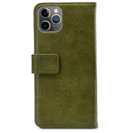 Productafbeelding van de Mobilize Elite Gelly Wallet Book Case Green Apple iPhone 11 Pro