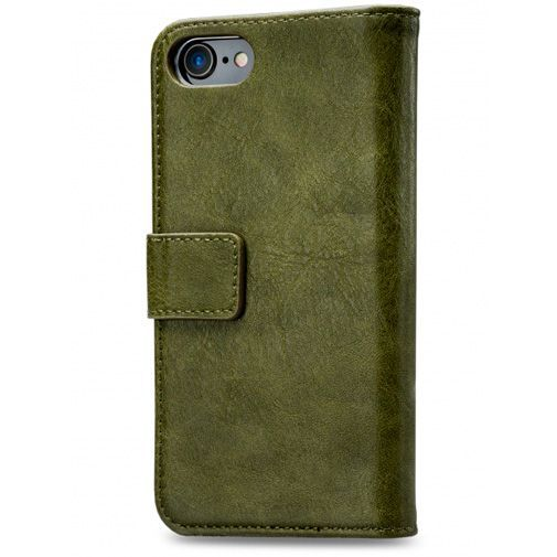 Produktimage des Mobilize Elite Gelly Wallet Book Case Grün Apple iPhone 7/8/SE 2020