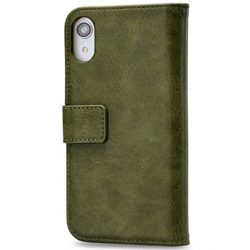 Productafbeelding van de Mobilize Elite Gelly Wallet Book Case Green Apple iPhone XR