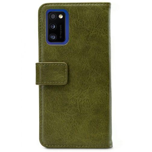 Productafbeelding van de Mobilize Elite Gelly Wallet Book Case Green Samsung Galaxy A41