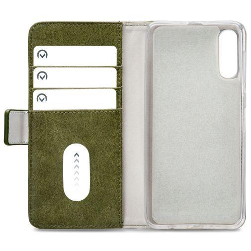 Productafbeelding van de Mobilize Elite Gelly Wallet Book Case Green Samsung Galaxy A30s/A50