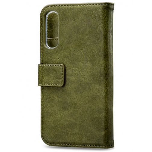 Produktimage des Mobilize Elite Gelly Wallet Book Case Grün Samsung Galaxy A30s/A50