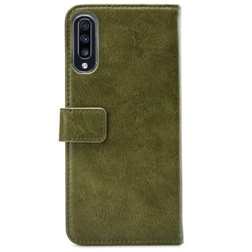 Productafbeelding van de Mobilize Elite Gelly Wallet Book Case Green Samsung Galaxy A70