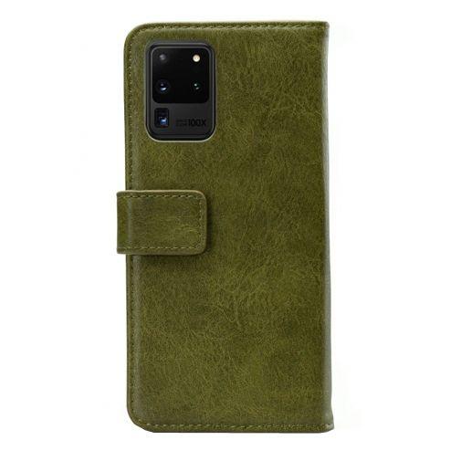 Productafbeelding van de Mobilize Elite Gelly Wallet Book Case Green Samsung Galaxy S20 Ultra