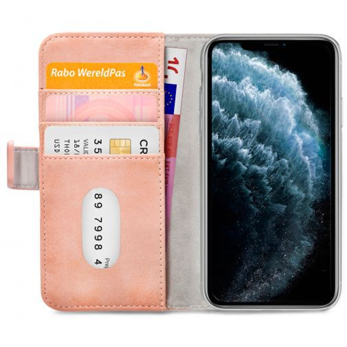 Productafbeelding van de Mobilize Elite Gelly Wallet Book Case Pink Apple iPhone 11 Pro
