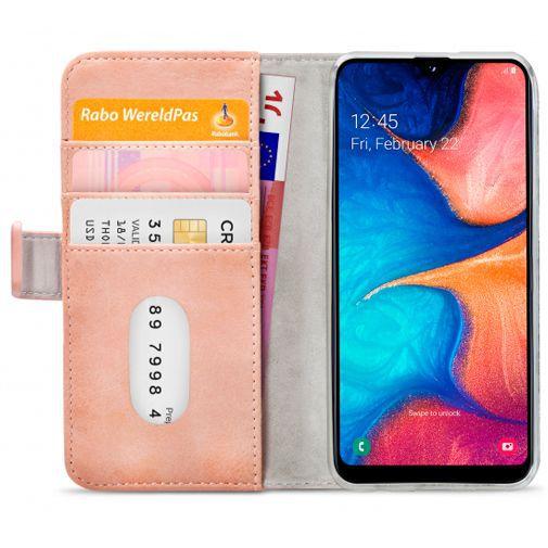 Productafbeelding van de Mobilize Elite Gelly Wallet Book Case Pink Samsung Galaxy A20e