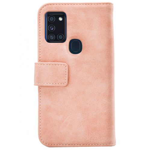 Productafbeelding van de Mobilize Elite Gelly Wallet Book Case Pink Samsung Galaxy A21s