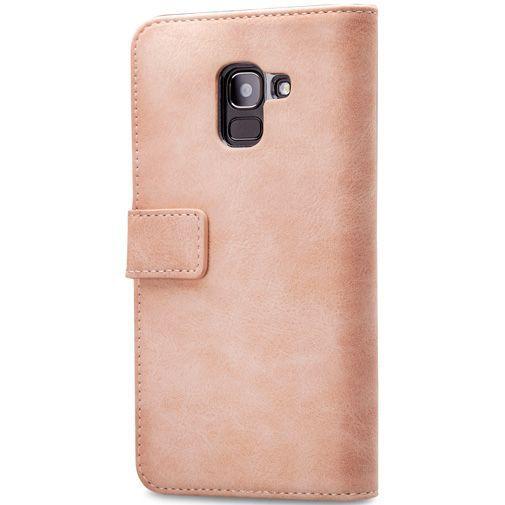 Produktimage des Mobilize Elite Gelly Wallet Book Case Pink Samsung Galaxy J6