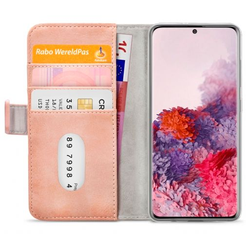 Productafbeelding van de Mobilize Elite Gelly Wallet Book Case Pink Samsung Galaxy S20