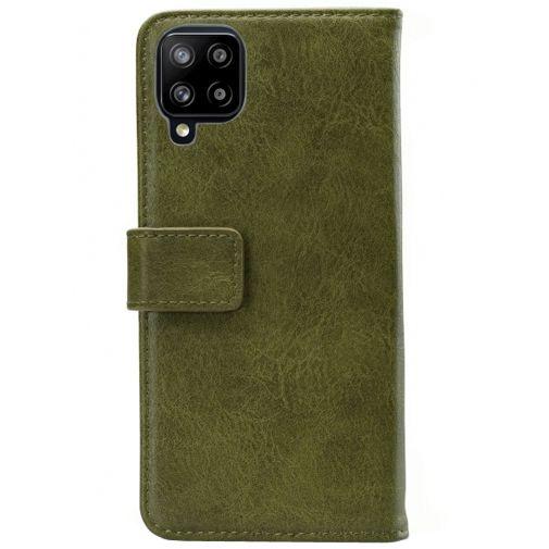 Productafbeelding van de Mobilize Elite PU-leer Book Case Groen Samsung Galaxy A42 5G