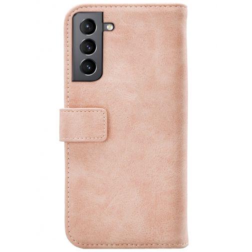Productafbeelding van de Mobilize Elite PU-leer Book Case Roze Samsung Galaxy S21+