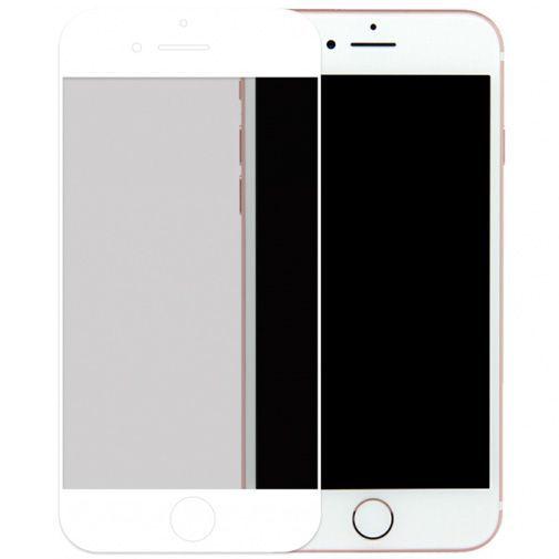 Productafbeelding van de Mobilize Full Coverage Safety Glass Screenprotector White Apple iPhone 6 Plus/6S Plus/7 Plus/8 Plus