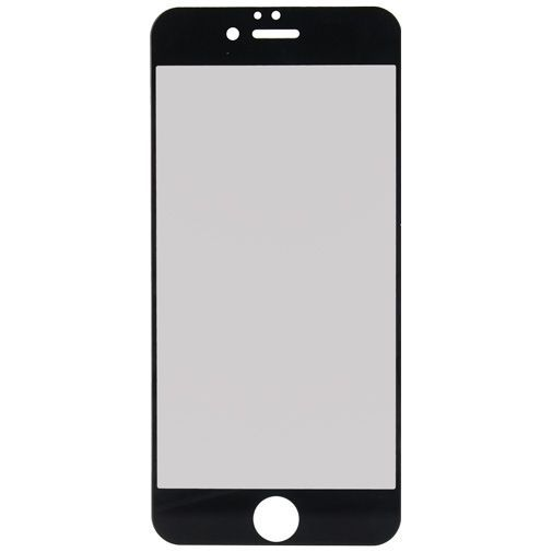 Produktimage des Mobilize Full Coverage Sicherheitsglas Displayschutzfolie Schwarz Apple iPhone 6/6S
