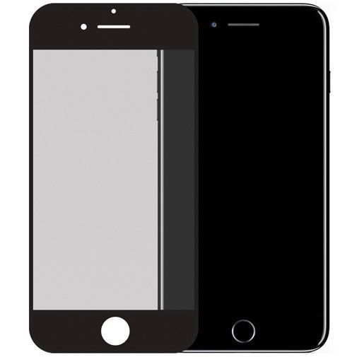 Productafbeelding van de Mobilize Full Coverage Safety Glass Screenprotector Black Apple iPhone 7/8/SE 2020