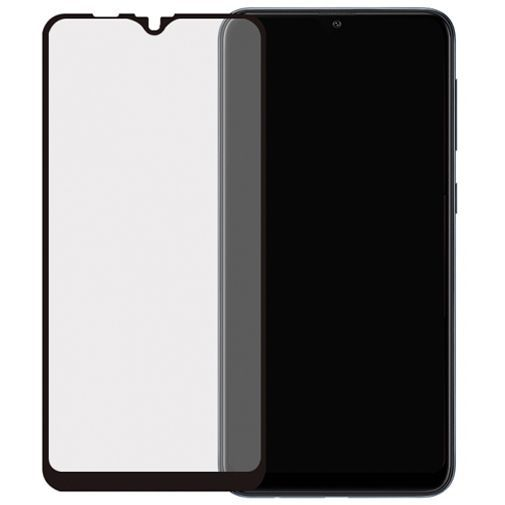 Productafbeelding van de Mobilize Full Coverage Safety Glass Screenprotector Black Samsung Galaxy A10