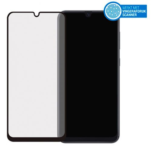 Productafbeelding van de Mobilize Full Coverage Safety Glass Screenprotector Black Samsung Galaxy A30s/A50