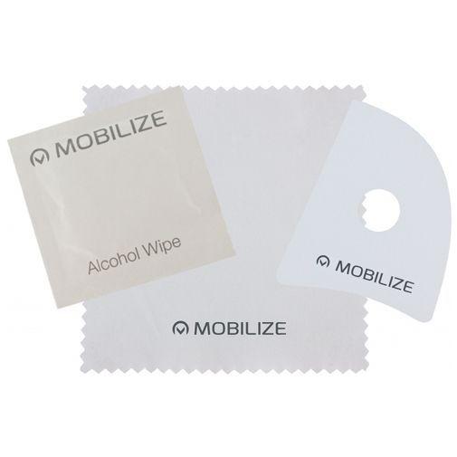 Produktimage des Mobilize Full Coverage Sicherheitsglas Displayschutzfolie Schwarz Samsung Galaxy A30s/A50