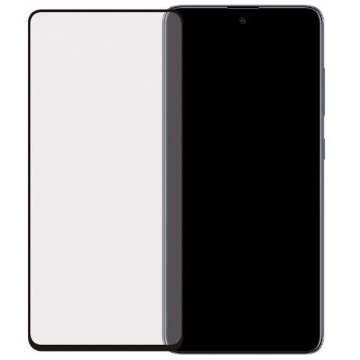 Productafbeelding van de Mobilize Full Coverage Safety Glass Screenprotector Black Samsung Galaxy A51
