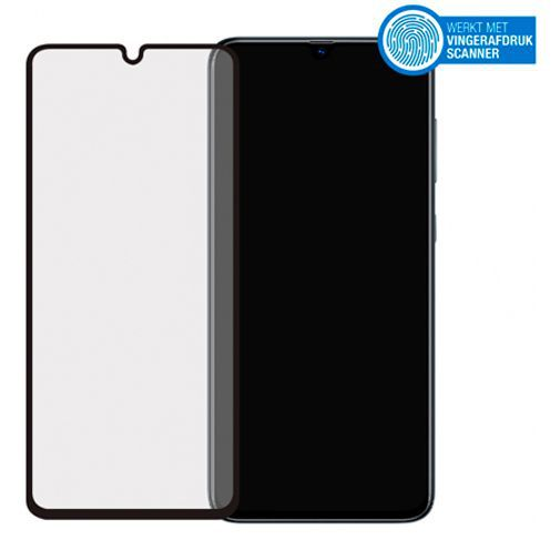 Productafbeelding van de Mobilize Full Coverage Safety Glass Screenprotector Black Samsung Galaxy A70