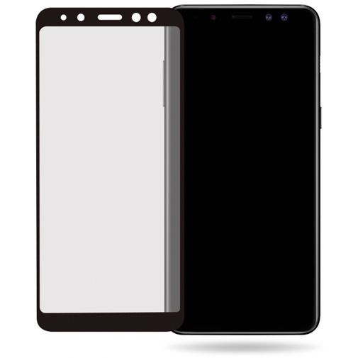 Productafbeelding van de Mobilize Full Coverage Safety Glass Screenprotector Black Samsung Galaxy A8 (2018)