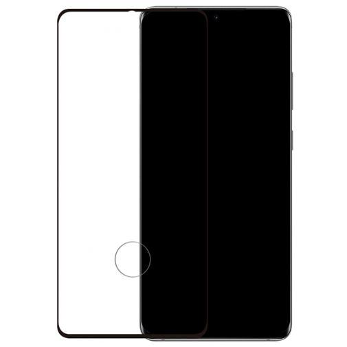 Productafbeelding van de Mobilize Full Coverage Safety Glass Screenprotector Black Samsung Galaxy S20+