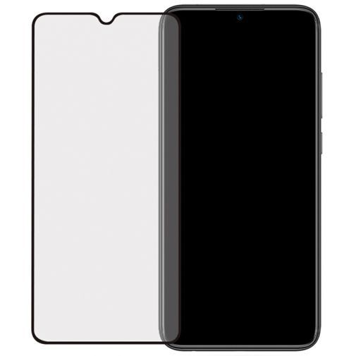Productafbeelding van de Mobilize Full Coverage Safety Glass Screenprotector Black Xiaomi Redmi Note 8T
