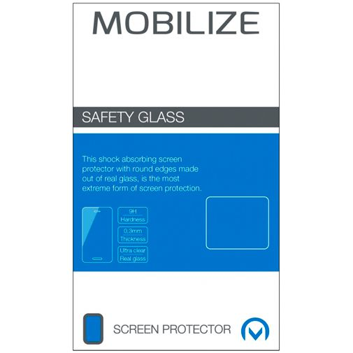 Productafbeelding van de Mobilize Gehard Glas Clear Screenprotector Apple iPhone 12 Mini