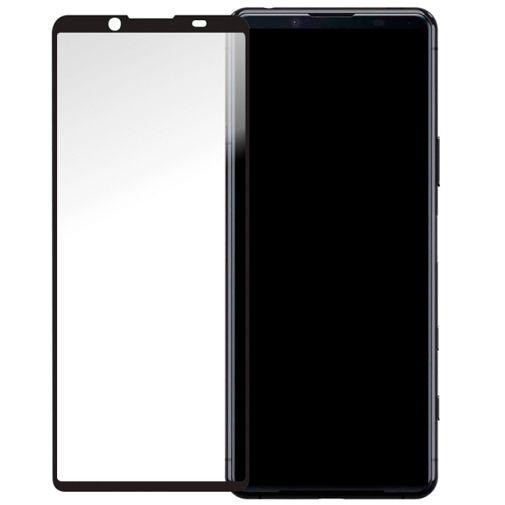 Productafbeelding van de Mobilize Gehard Glas Full Coverage Screenprotector Sony Xperia 5 II Zwart
