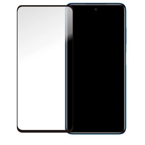 Productafbeelding van de Mobilize Gehard Glas Edge To Edge Screenprotector Xiaomi Poco X3 NFC Zwart