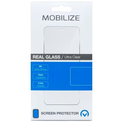 Productafbeelding van de Mobilize Gehard Glas Edge to Edge Screenprotector Zwart OnePlus Nord