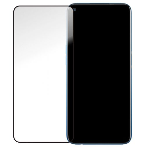 Productafbeelding van de Mobilize Gehard Glas Edge to Edge Screenprotector Zwart Realme 7