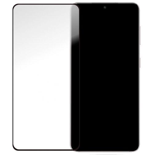 Productafbeelding van de Mobilize Gehard Glas Edge to Edge Screenprotector Zwart Samsung Galaxy S21+