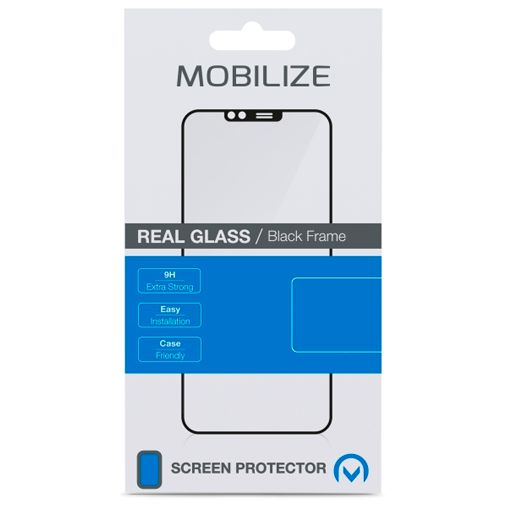 Productafbeelding van de Mobilize Gehard Glas Edge to Edge Screenprotector Samsung Galaxy S21 Ultra