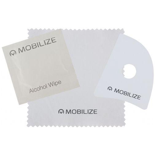 Productafbeelding van de Mobilize Gehard Glas Full Coverage Screenprotector Motorola Moto G9 Plus Zwart