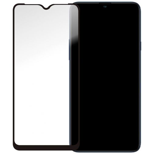 Productafbeelding van de Mobilize Gehard Glas Full Coverage Screenprotector Samsung Galaxy A20s Zwart