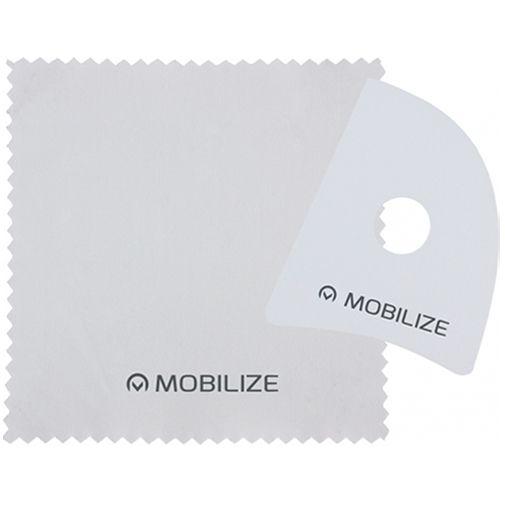 Productafbeelding van de Mobilize Plastic Clear Screenprotector Apple iPhone 12 Mini 2-pack