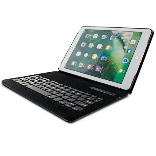 Productafbeelding van de Mobilize Premium Bluetooth Keyboard Case Black Apple iPad 2017/iPad 2018