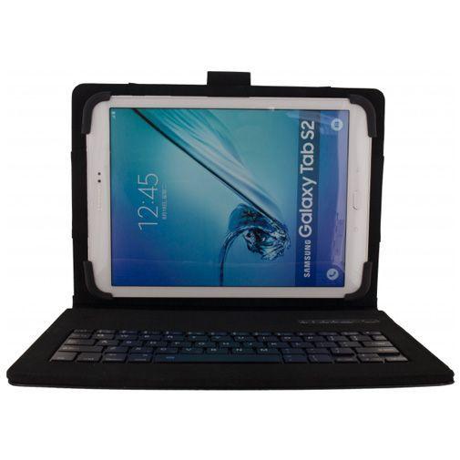 Produktimage des Mobilize Premium Bluetooth Tastatur Hülle Schwarz Universell 9-10 Zoll