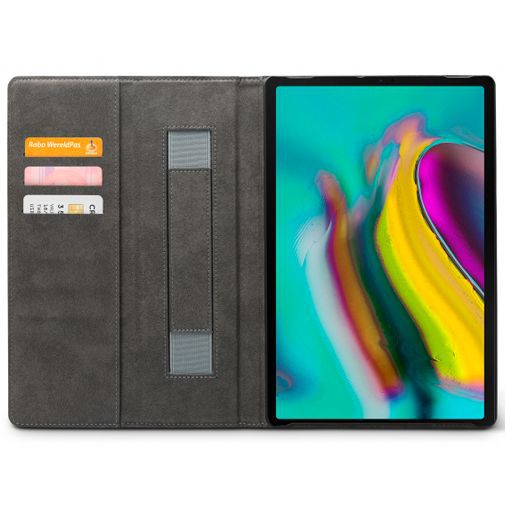 Productafbeelding van de Mobilize Premium Folio Case Black Samsung Galaxy Tab S5e