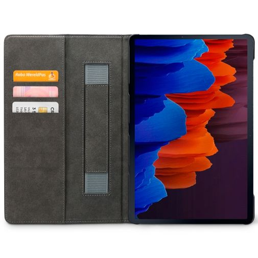 Productafbeelding van de Mobilize Premium Folio Case Black Samsung Galaxy Tab S7+