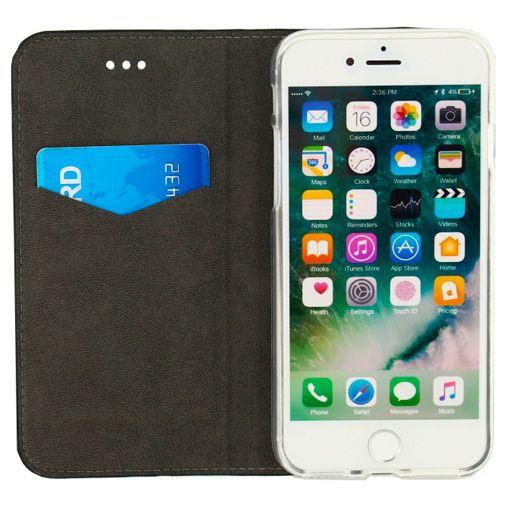 Produktimage des Mobilize Premium Gelly Book Case Schwarz Apple iPhone 7/8/SE 2020