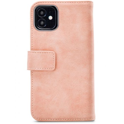 Productafbeelding van de Mobilize Elite PU-leer Book Case Roze Apple iPhone 12 Mini