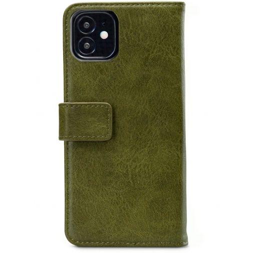 Productafbeelding van de Mobilize Elite PU-leer Book Case Groen Apple iPhone 12 Mini