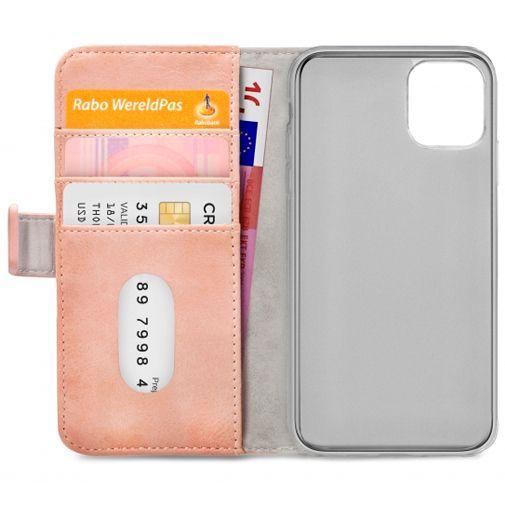 Productafbeelding van de Mobilize Elite PU-leer Book Case Roze Apple iPhone 12 Pro Max