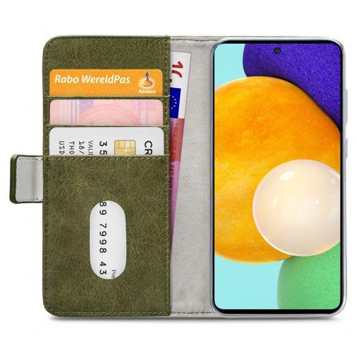 Productafbeelding van de Mobilize PU-leer Book Case Groen Samsung Galaxy A52