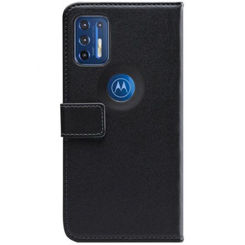 Productafbeelding van de Mobilize PU-leer Book Case Zwart Motorola Moto G9 Plus