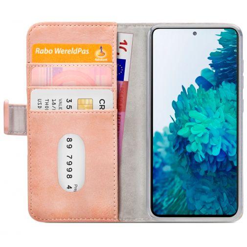 Productafbeelding van de Mobilize PU-leer Book Case Roze Samsung Galaxy S20 FE
